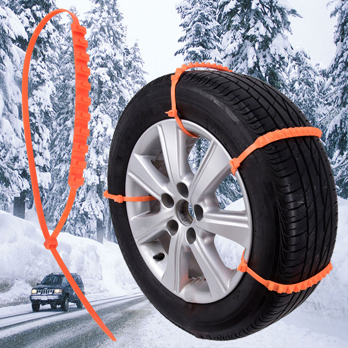 Autoleader 5/10/20 stücke 900mm Auto Universal Anti Skid Schnee Ketten Nylon für Auto Lkw Schnee schlamm Rad Reifen Reifen Kabelbinder