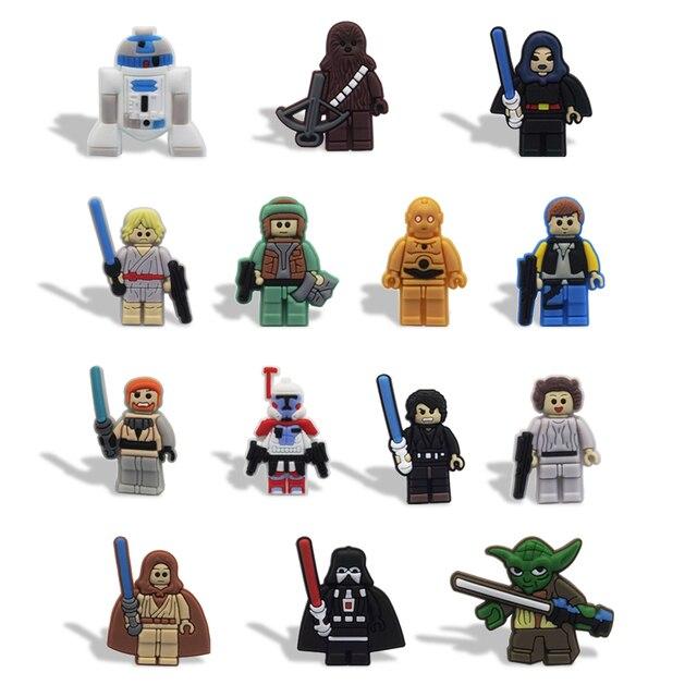 8 14pcs Star Wars Heroes Creative Style DIY Blackboard Fridge ...