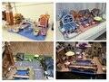 Original 3d diy World Amorous Building grocery store street Beerhouse villa resturant hostel dollhouse match sylvanian families
