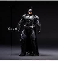 NECA Batman Action Figures 1/4 DC Arkham Asylum Model Toys 50cm