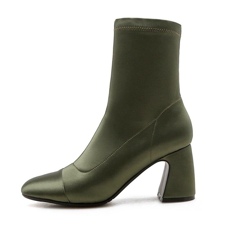 Las Del Con Dedo Bolso Botas Tobillo Fino De Black Mujer Pie grey Zapatos E grey Puntiagudo Alto Hebilla Tacón Mujeres Enmayer Invierno Otoño Para Cr1729 U0YxInIf