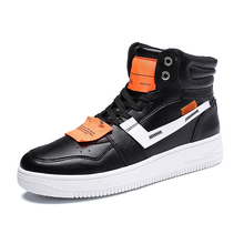 Men Sneakers Air Casual Leather Shoes for Man Shoes Autumn High Top Footwear Vulcanize Shoes Walking Flats Fashion Board Shoes