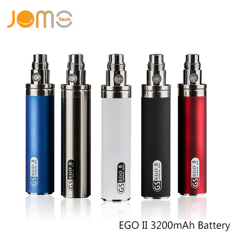 Greensound eGo II 3200mah Battery for E Cig Updated EGO Battery For eGo CE4 MT3 Atomizers Electronic Cigarette Battery Jomo-226