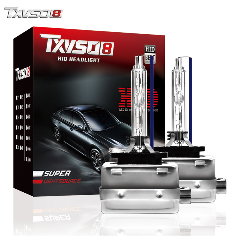 TXVSO8 D1S D3S Xenon hid lights kit Bulb <font><b>D2S</b></font> D4S Car Headlight 4300K 3000K 6000K 8000K 12V <font><b>55W</b></font> Auto Light Bulbs araba aksesuar image