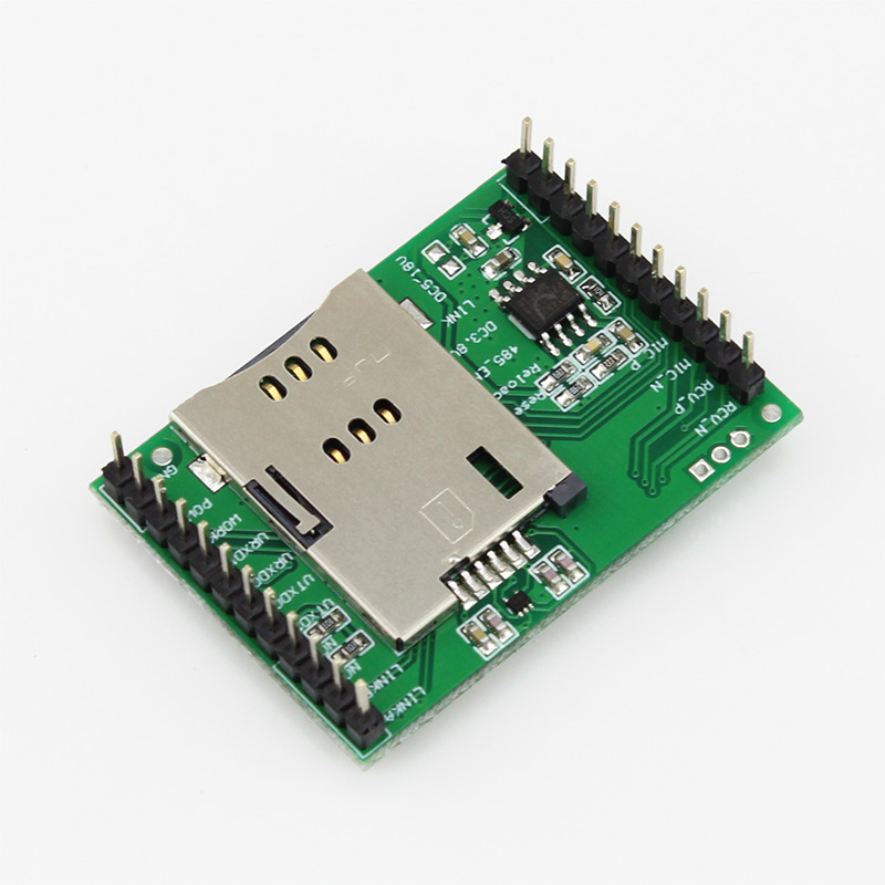 USR-GPRS232-7S3 Free Shipping Serial UART TTL to GPRS/GSM/EDGE Module Httpd Client Supported Highly-Integrated GPRS Module ttl turn rs485 module 485 to serial uart level mutual conversion hardware automatic flow control