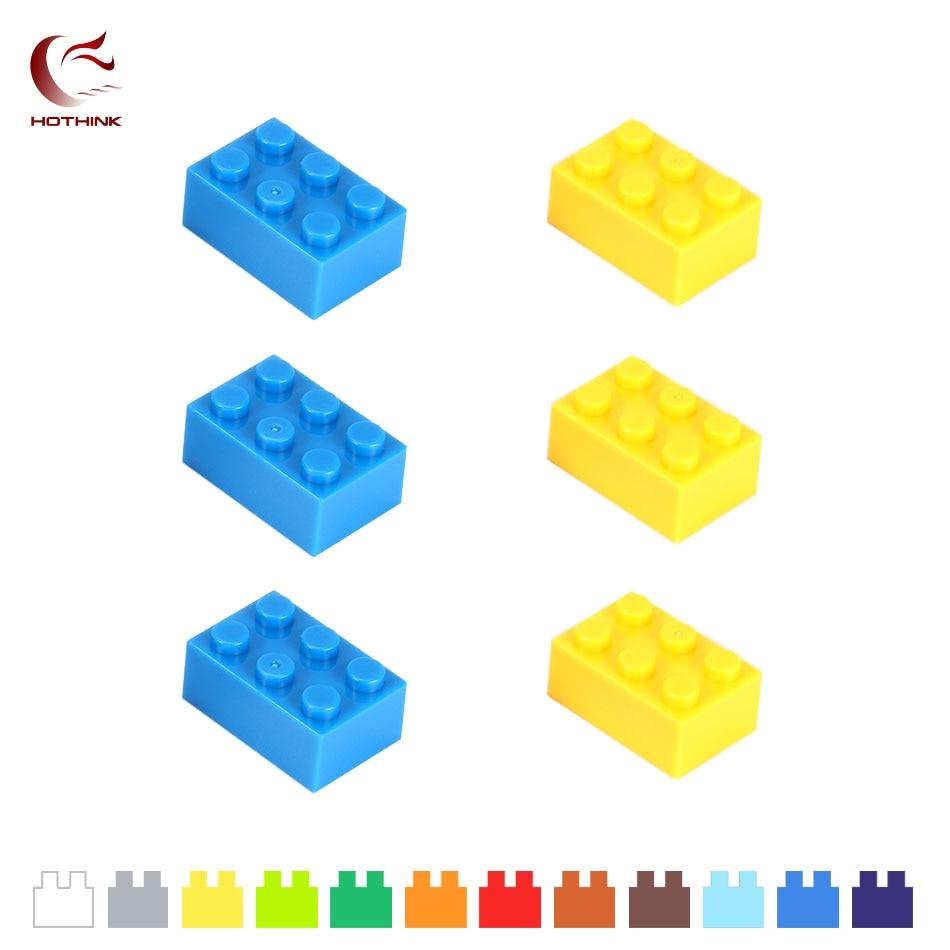 P//N 22885 5x Lego LIGHT GREY Brick Modified 1 x 2 x 1 2//3 with Studs BB2F