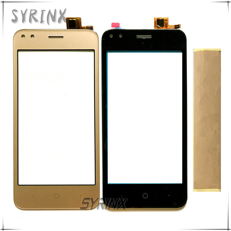 Syrinx With Tape Touch Screen Digitizer For Micromax Bharat 3 Q437 Mobile Phone Touch Panel Sensor Glass Touchscreen Replacement