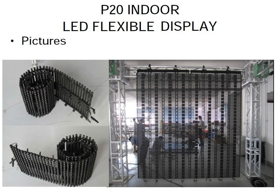 Indoor P20 flexbile curtain