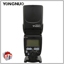 YONGNUO YN660 Wireless Flash Speedlite GN66 2,4G Funk Master Slave für Canon Nikon Pentax Olympus YONGNUO YN 660