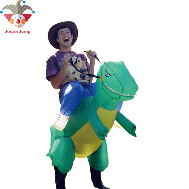 Cosplay Dinosaur Costume Inflatable Adult T REX Costume Ride Animal Halloween Costumes For Kids Women Men  sc 1 st  AliExpress.com & Cosplay Dinosaur Costume Inflatable Adult T REX Costume Ride Animal ...