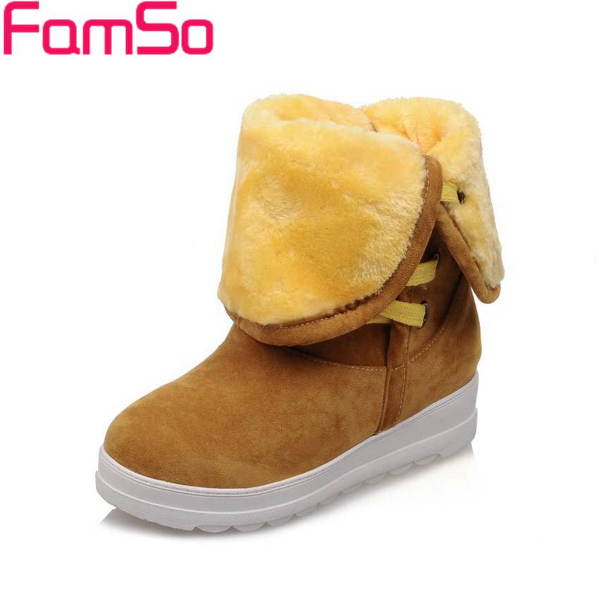 Plus Size34 43 2016 new Fashion font b Women b font Autumn Riding Boots Platforms Half