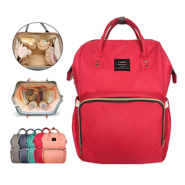 Mommy Diaper Bag Large Capacity Baby Ny Bags Nursing Fashion Travel Backpack Care