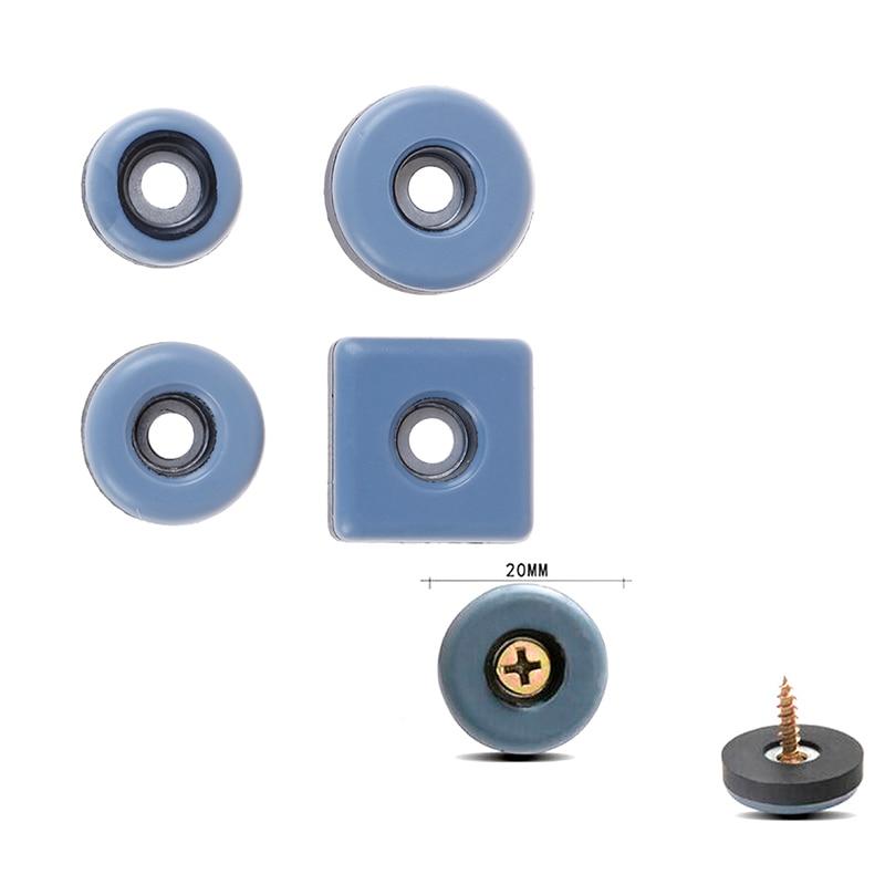 4pcs Slider Pad Furniture Table Bases Protector Coaster Carpet Ground Magic Moving Anti-abrasion Floor Mat