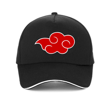 Japanese Akatsuki Logo cap Anime Naruto Dad Hat Uchiha Family print Baseball Caps Red Cloud Snapback Hats