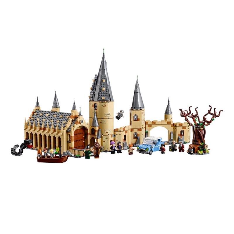 2019 Harry Magic Potter Hogwarts Great Hall Compatibility Legoing Harri Potter 75954 Building Blocks Bricks Toys Gift Christmas2019 Harry Magic Potter Hogwarts Great Hall Compatibility Legoing Harri Potter 75954 Building Blocks Bricks Toys Gift Christmas
