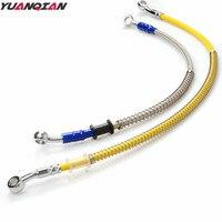 Universal Motorcycle Brake Pipe Tubing Brake Hose Line For Yamaha YZ 125 250 250F 450F 80 85 250X 250FX 450FX WR TTR XV400 R125