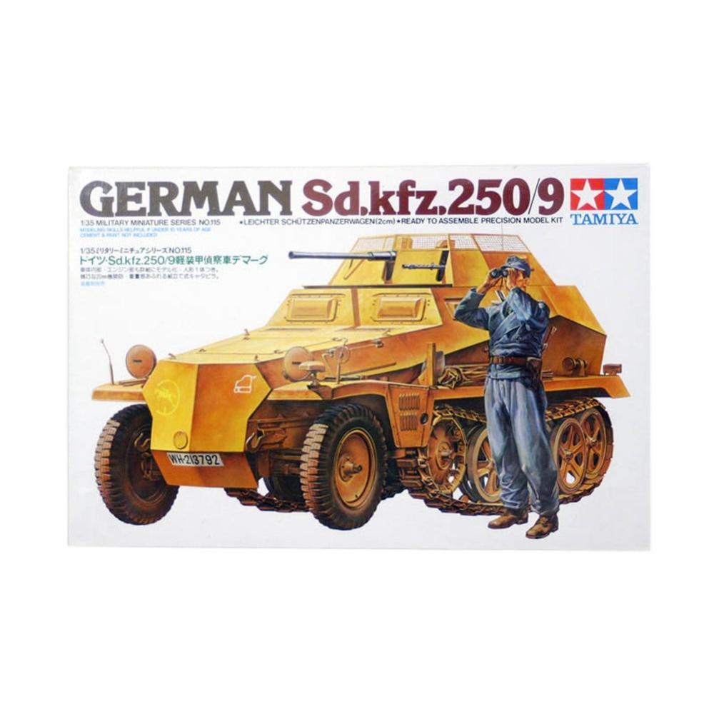 OHS Tamiya 35115 1/35 German Sd Kfz 250/9 Military Assembly AFV Model Building Kits oh ohs meng ts007 1 35 german main battle tank leopard 1 a3 a4 afv model building kits