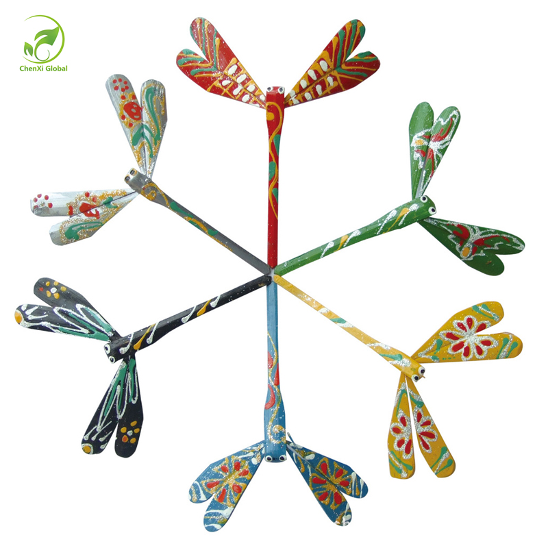 Home Decorations Dragonfly Handmade Crafts Small Bamboo's Decorative Balance Toys Natural Material Bamboo Crafts For Kids Gifts