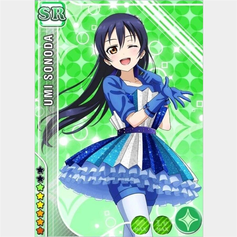 Japanese Anime LoveLive School idol project Sonoda Umi Cosplay Wig Adult Girls Opp Bag Free Shipping