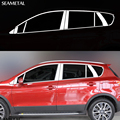 For Suzuki SX4 2nd S-Cross 2014 2015 2016 Car Window Molding Trim External Decoration Sequins Auto Accessories Car Styling