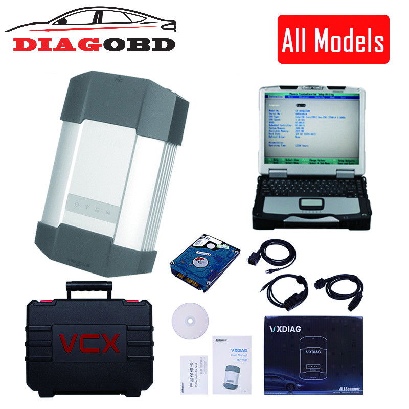 VXDIAG All model in 1 Multidiag Diagnostic Tool for GM TECH2 JLR For bmw icom a2 a3 for toyota it3 it2 HDS VCM Vcads star цена 2017