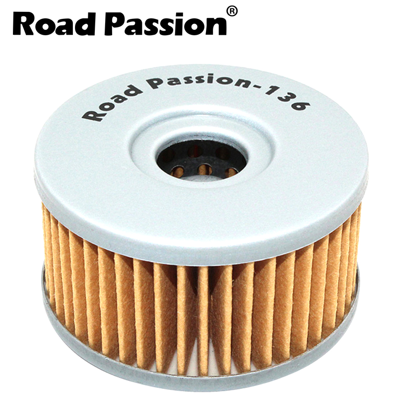 Road Passion Motorcycle Oil Filter grid For SUZUKI DR400 DR400S DRZ250 GN250 GN400 GZ250 SG350 SP250 VL125LC TU250X SP400T