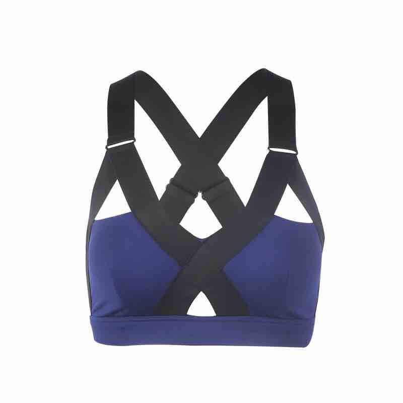 9e2399d3ae0 Dropwow Colorvalue Sexy Push Up Sport Bras Women Padded Gym Fitness ...