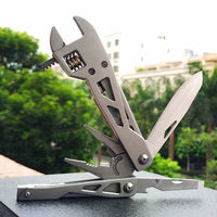 Outdoor Survival Hand Tool pliers Multi function Universal Wrench Hammer Self defense Multitool Multi Tools outillage garage