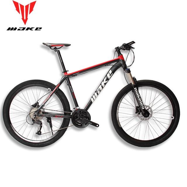 """MAKE горный велосипед алюминиевая рама SHIMAN0 AItus 27 скорость 26 """"27,5"""" 29 гидравлический/механический тормоз"""