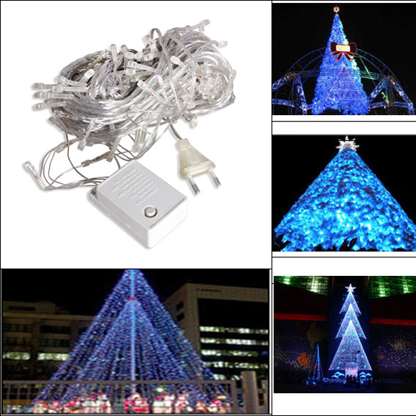 Metal garden ornaments reviews online shopping metal for Outdoor christmas tree ornaments