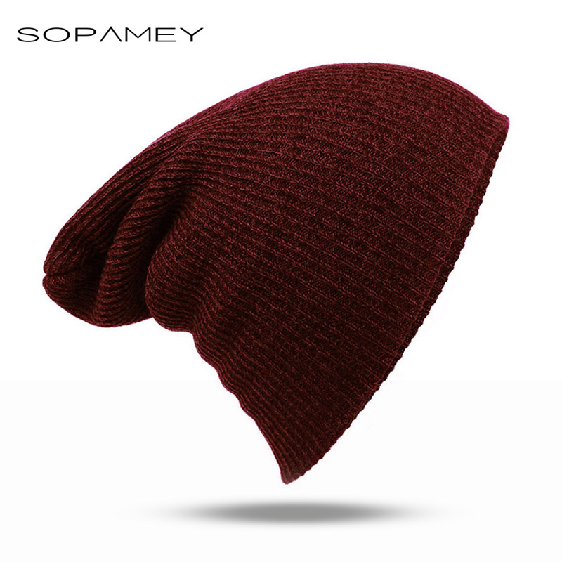 2017 New Winter Beanies Solid Color Hat Unisex Plain Warm Soft Beanie Knit Cap Hats Knitted Touca Gorro Caps For Men And Women new winter beanies solid color hat unisex warm grid outdoor beanie knitted cap hats knitted gorro caps for men women