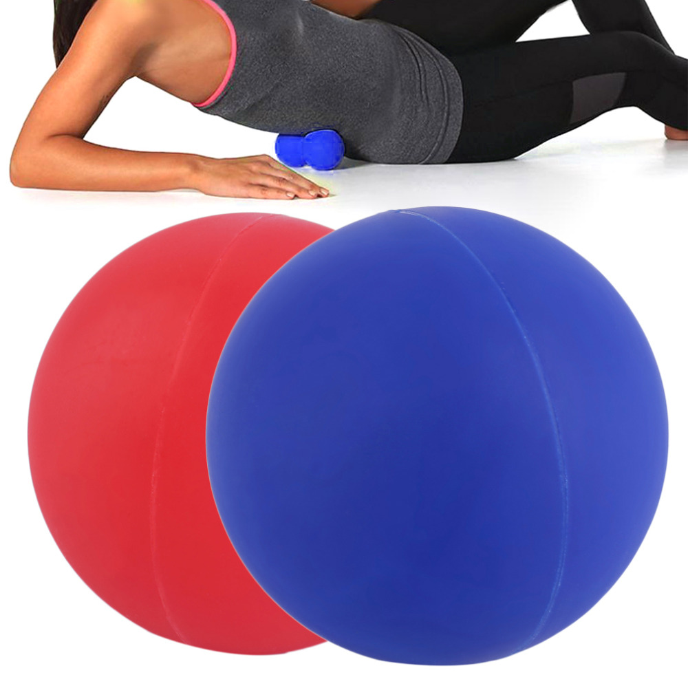все цены на Hot !Gel Reaction Elastic Massage Lacrosse Ball Relieve tension Coordination points  Exercise Sports Gym Ball Self massage tool онлайн