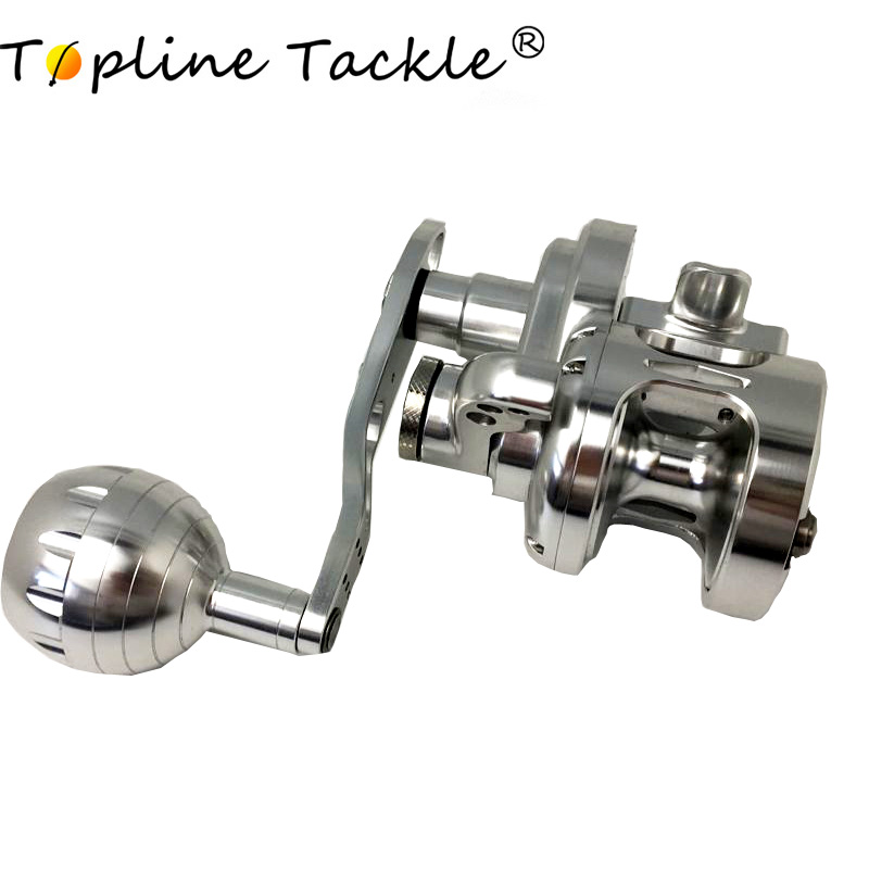Topline Tackle baitcasting spinning casting fly jigging fishing reel seat carp trolling pesca sea low profile fish reels handle in Fishing Reels from Sports Entertainment