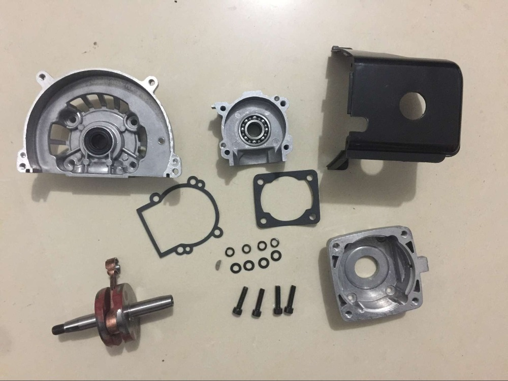 36cc engine parts Crankcase with crankshaft set for TS 36CC ENGINE