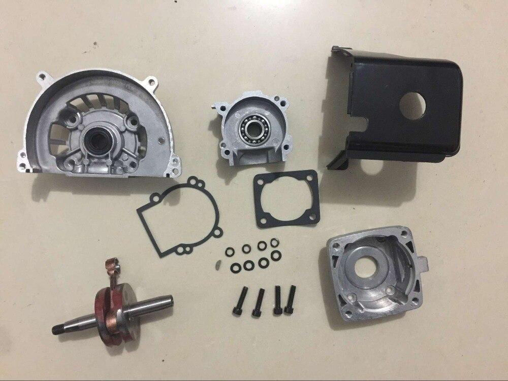 36cc engine parts Crankcase with crankshaft set  for TS 36CC ENGINE jiangdong engine parts for tractor the set of fuel pump repair kit for engine jd495