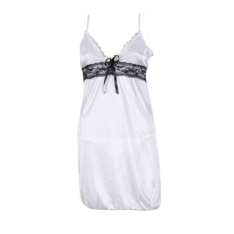 Women Sexy Lingerie Lace Dress G string Intimate Underwear Babydoll Sleepwear Nightwear Erotic Sets Night Gown femme Costumes in Bra Brief Sets from Underwear Sleepwears