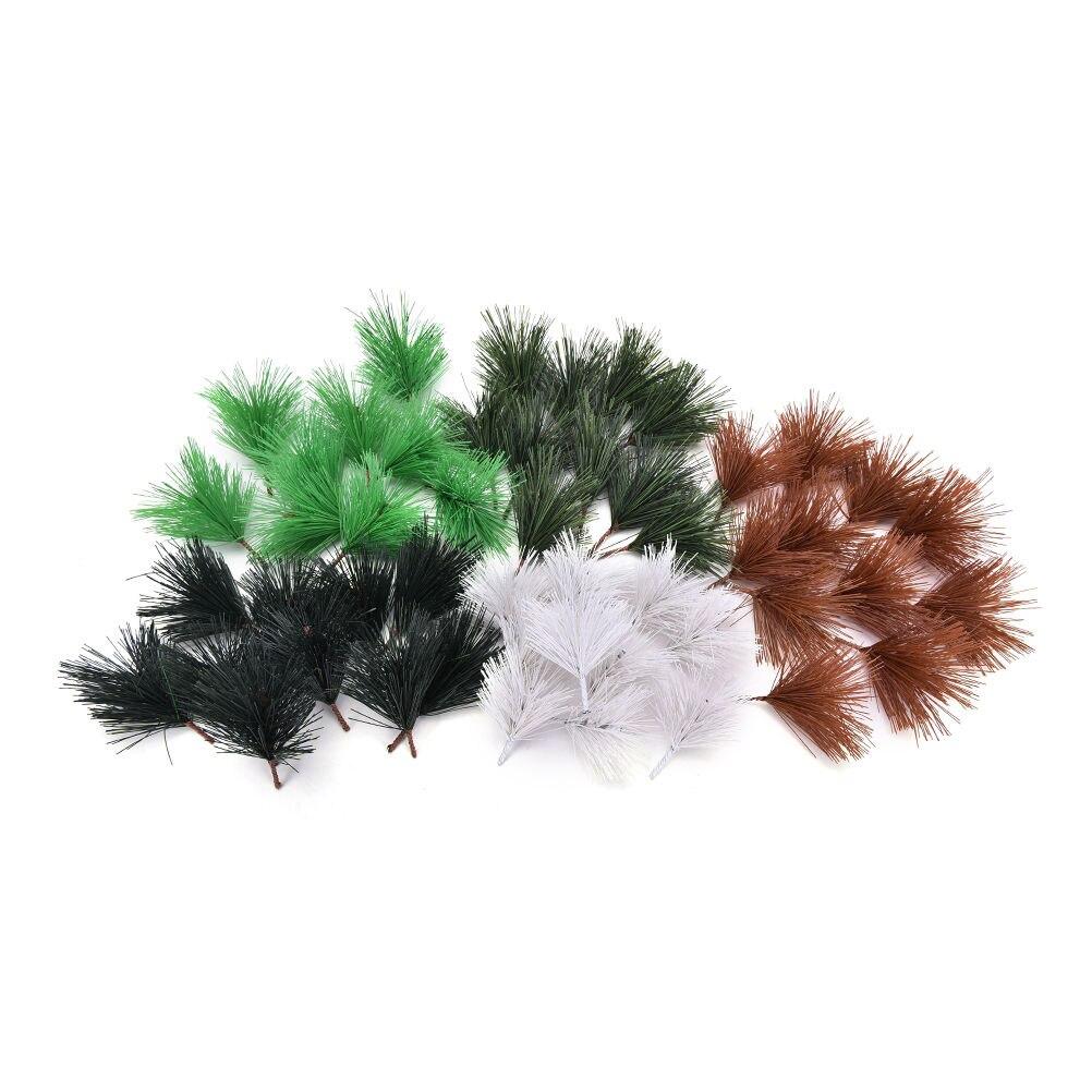 Christmas Tree Needles: Hot Sale 10 Pcs/lot Artificial Pine Needles Xmas Tree