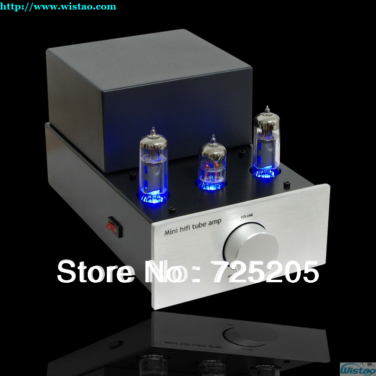 HIFI Mini Tube Amplifier Single-ended Class A 6N2 Preamp 6P1 Tubes Power Stage Support 3.5mm Output as Tube Earphone Amplifier hifi stereo 6n2 6p1 single ended class a tube amplifier amp board diy kit