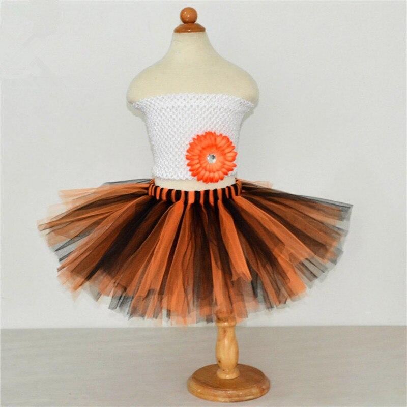 Hot Selling Halloween Baby Kids Girls Skirts Children Ballet Tulle Tutu Skirt Fashion Baby Tutu Pettiskirt Ball Gown 1-10years