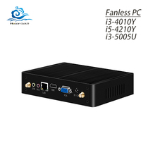 Celeron 3955U Mini PC 4K Ultra HD 3D Blu Ray Mini PC Windows 10 8GB RAM USB3.0 Wifi Minipc Fanless Core i3 5005U Mini Computer