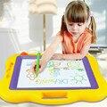 44*38 cm tablero de dibujo magnético juguetes pintura mágica grande con pluma mágica juguete educación temprana Kinder Graffiti reutilizable juguete