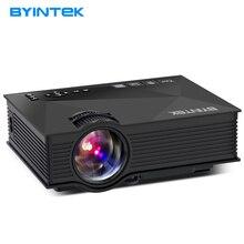 2017 Últimas BYINTEK ML215 ML218 BT460 de Cine En Casa HDMI USB VGA LCD de Vídeo Portátil Mini 1080 p HD LED Proyector Proyector