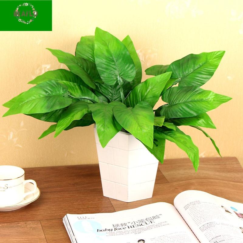 1Bunch Scindapsus Artifical Plant Leaves Silk Cloth Floristry Arrangement Wedding Home Decorative1Bunch Scindapsus Artifical Plant Leaves Silk Cloth Floristry Arrangement Wedding Home Decorative