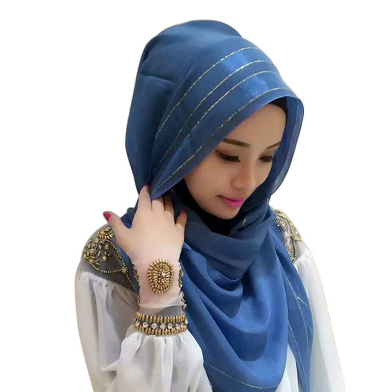 6787d42d52d 1pc Head Accessories Scarf Hijabs Nano Silk Solid With Bright Solid Striped  Bonnet Cap Bone Islamic Head Cover Hijabs Adjustable - Freemovieone.gq