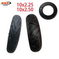 Neumático CST 10 10x2,50 para Scooter Eléctrico 10x2,25 tubos interiores de neumáticos equilibrio Hoverboard auto inteligente neumáticos duraderos gruesos