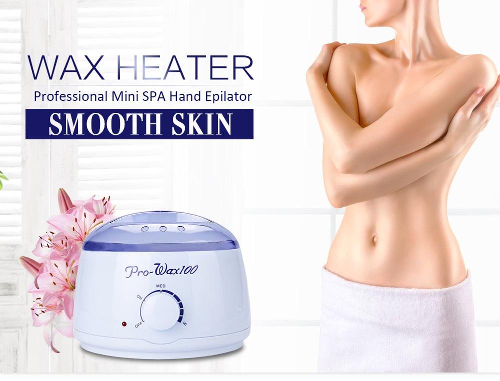 цены на 2016 Newest 0.5L Salon Sundry Portable Electric Hair Removal Hot Wax Warmer Portable Heater Facial Skin Spa Hair Removal Warmer в интернет-магазинах