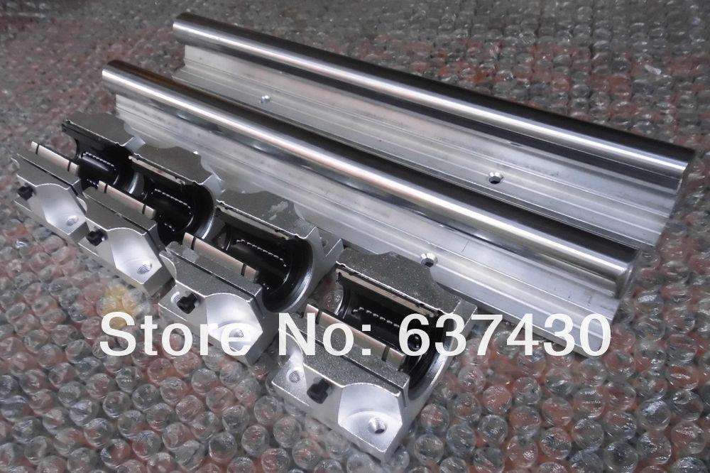 ФОТО 2pcs TBR25 -L1350mm Support Linear rails shaft guide+4pcs TBR25UU block bearings