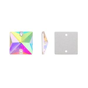 Image 3 - 12mm תפירת קריסטל AB Flatback Rhinestones לתפור על גבישי אבנים כיכר Strass עבור DIY בגדי מלאכות 50pc