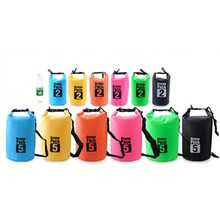 1 Pcs 10L Outdoor Portable Waterproof Luggage Dry Bag For Drifting Rafting Canoe Bag Travel Kit j2