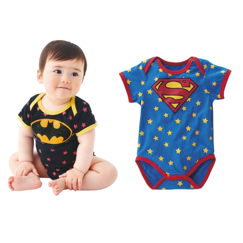 2017 New Summer Unisex Baby Boy Clothes Cartoon Cotton Rompers Cute Infant Toddler Baby Girl Jumpsuit Bebes Clothing for 4-18M